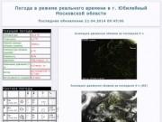 On-line метеостанция в городе Юбилейный