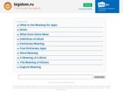 Студия Бигидом. Разработка, продвижение и аудит сайтов. (Россия, Кемеровская область, Кемеровская область)