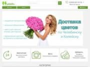 Сайт по доставке цветов в Челябинске и Копейске. Интернет магазин цветов (Россия, Челябинская область, Челябинск)
