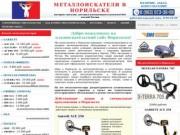 Металлоискатели в Норильске купить продажа металлоискатель цена металлодетекторы