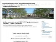 Государственное бюджетное образовательное учреждение начального профессионального образования