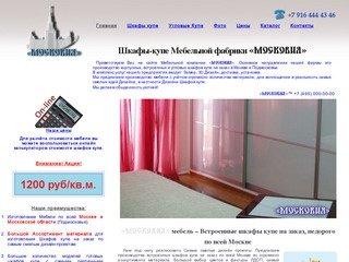 Московия мебель - Встроенные Шкафы купе на заказ недорого в Москве