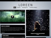 "Loreen - официальный сайт победительницы ""Евровидения-2012"" Лорин (Loreen's performance in the Swedish selection to the Eurovision Song Contest 2012 was in several aspects dreamlike)"