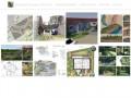 Персональный сайт художника, 3d визуализатора, ландшафтных дизайнеров - Евгения Тельных