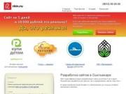 Дизайн и создание (разработка) веб сайтов в Сыктывкаре