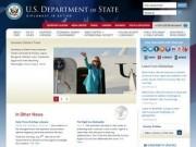 U.S. Department of State (Официальный сайт Государственного департамента США)