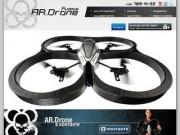 AR.Drone.ru - Parrot Wi-Fi квадракоптер для iPhone, iPod touch и iPad