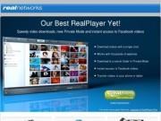 The Official RealPlayer Site (The social and portable media player to download videos from the web)