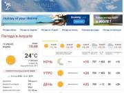 Погода в Алуште. Температура воды в море. Прогноз погоды.