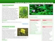 Лечебные травы Оренбургской области