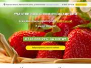 Земельные Участки в г. Калязин на Волге, Тверская область.