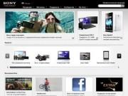 """Sony - официальные сайты корпорации """"Сони"""""""