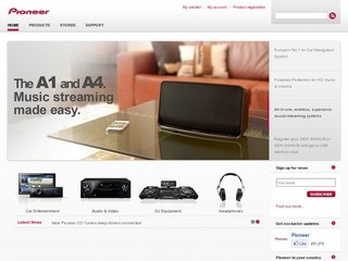 Pioneer Russia официальный сайт компании - www.pioneer-rus.ru
