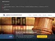 Адвокат Лысин А.А.