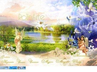 PolinArte // Home page