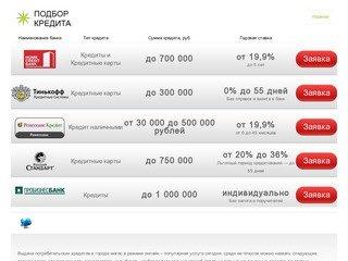Выдача потребительских кредитов  в городе Магас | portokr.ru