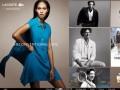 Lacoste (Лакостэ)- французская компания (производит одежду, обувь, парфюмерию, изделия из кожи, часы, очки и теннисные рубашки)