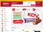 Интернет-магазин KDV Online - доставка сладостей и снеков. В интернет-магазине более 700 наименований товаров и все это - сладости к чаю и снеки известных марок. (Россия, Ленинградская область, Санкт-Петербург)