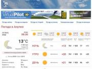 Погода в Алупке. Температура воды в море. Прогноз погоды.