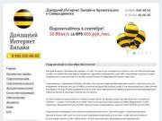 Домашний Интернет Билайн Архангельск Северодвинск