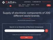 RADAL Микроэлектроника — растущая компания, занимающаяся экспортом большого ассортимента микроэлектроники и электронных компонентов. (Россия, Ставропольский край, Ставрополь)