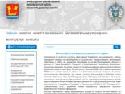 Учреждения образования Кировского района Ленинградской области |