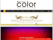COLOR BLOCKING модный глянцевый журнал