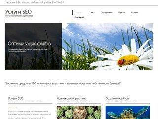 Услуги СЕО, SEO - Поисковая оптимизация сайтов