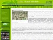 """Газета """"Наша Шумиха"""" - №1 (1), 2010 год, 26 августа, четверг"""