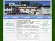 Сайт ТСЖ в городе Сясьстрой