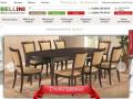 В интернет-магазине Беллини в широком ассортименте предлагается эксклюзивная мебель, выполненная в итальянском стиле, по выгодной цене. Это качественные фабричные предметы меблировки. (Россия, Московская область, Москва)