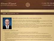 Юрист по арбитражным делам Трутнев Евгений Васильевич. Юридические услуги г