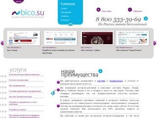Компания BiCo - реклама в интернете