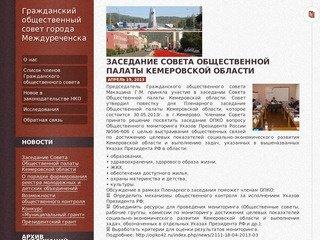 Гражданский общественный совет города Междуреченска