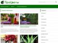 Сайт Процветы.ру содержит огромное количество информации по уходу за домашними растениями (Россия, Ленинградская область, Санкт-Петербург)