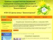 КГБУ СО Центр семьи Зеленогорский - Новости