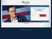 Mitt Romney for President of the United States of America in 2012 (Кандидат в Президенты США Митт Ромни)