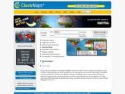 ClustrMaps - карта местоположений посетителей сайтов