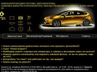Выездная компьютерная диагностика автомобилей г.Брест