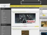 Сайт для администратирования игровых серверов CS и CSS.