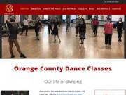 Сайт школы танцев
