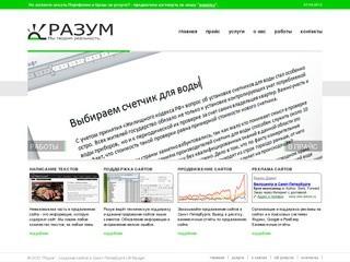 Компания Разум - Разработка, Создание сайтов в Санкт-Петербурге