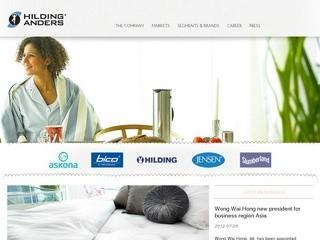 Hilding Anders Groop (матрасы) - бренды