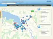 Справочник города Нытва (Карта организаций)