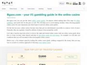 Bgaoc.com - это полноценный блог онлайн-азартных игр, написанный профессиональными игроками, которые любят помогать посетителям получать лучшие результаты при игре в интернете. (Россия, Бурятия, Бабушкин)
