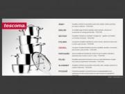 TESCOMA - Sortiment kuchyňského nerezového nádobí, nářadí a pomůcek pro vaření a stolování (Kompletní sortiment kuchyňského nerezového nádobí, nářadí a pomůcek pro vaření a stolování - TESCOMA)