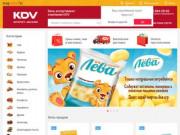 Интернет-магазин KDV Online - доставка сладостей и снеков (Россия, Иркутская область, Иркутск)