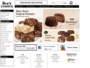 Chocolates - Quality chocolate and chocolate gifts from See's Candies. Create your own assortment of boxed chocolates