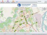 Местоположение транспорта в режиме реального времени. Город Ангарск.