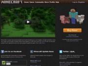 Minecraft («шахтёрское ремесло») — компьютерная игра (официальный сайт)